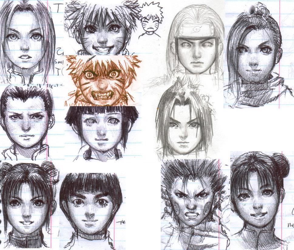 Naruto Group 2 by ~iDNAR