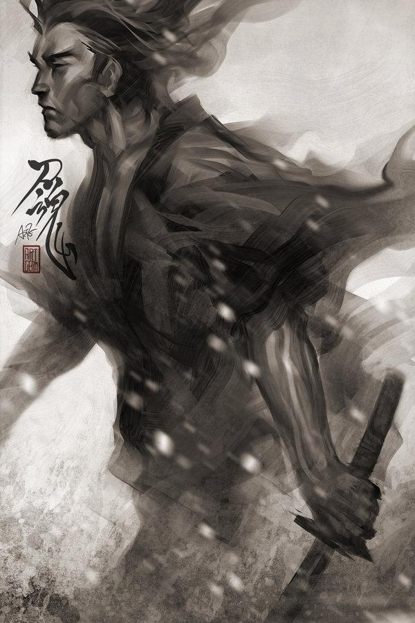 Samurai Spirit 7 by `Artgerm