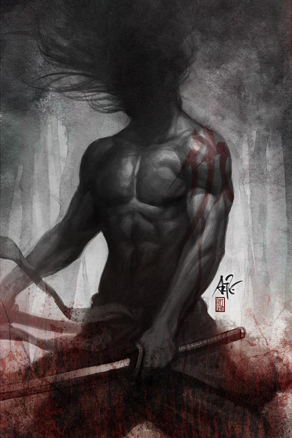 Samurai Spirit - Vengeance by `Artgerm