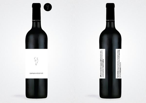 corporate identity for Currus Wine Cellar