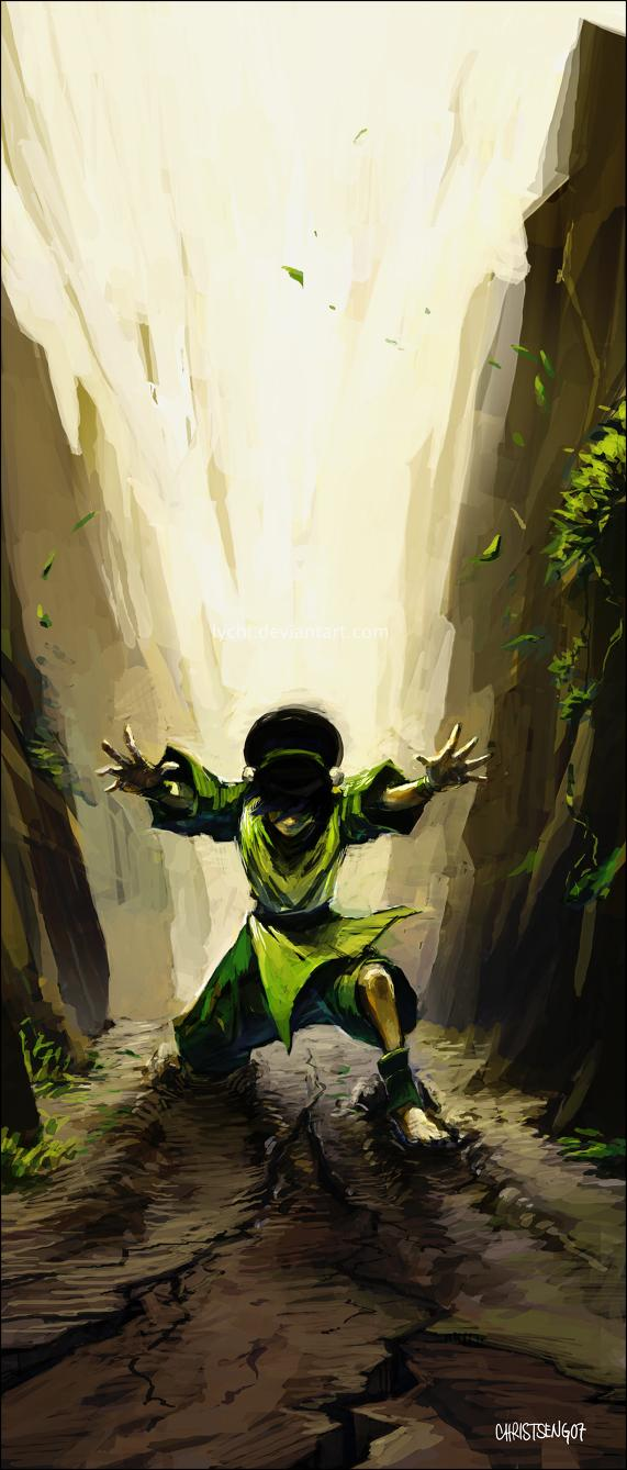 Toph by *lychi