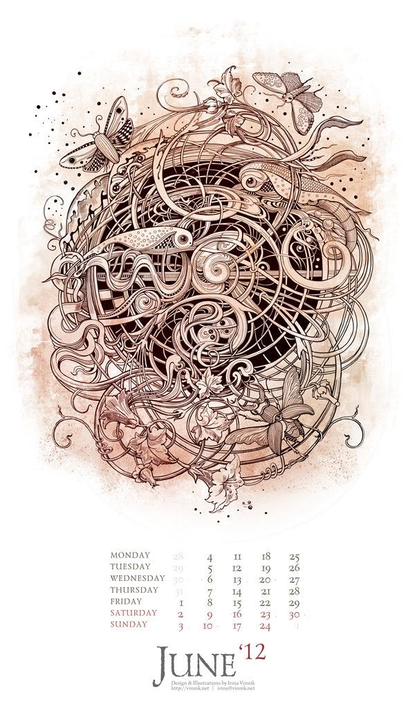 The Eyes of Imagination (Calendar 2012)
