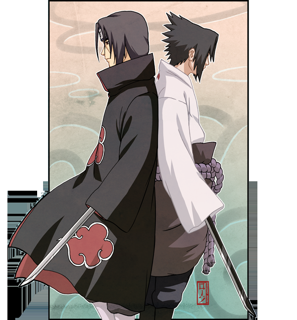 Uchiha Siblings by *pokefreak