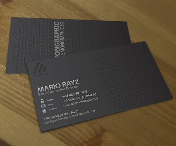Corporate Business card set 02