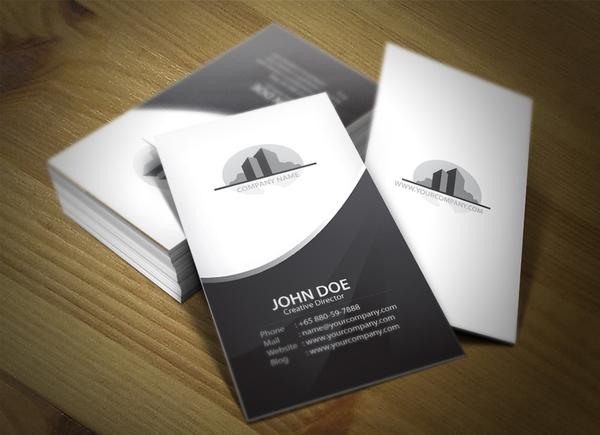 Corporate business card set 01