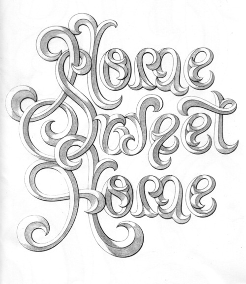 Typeverything.com Home Sweet Home by Doyald... - Typeverything