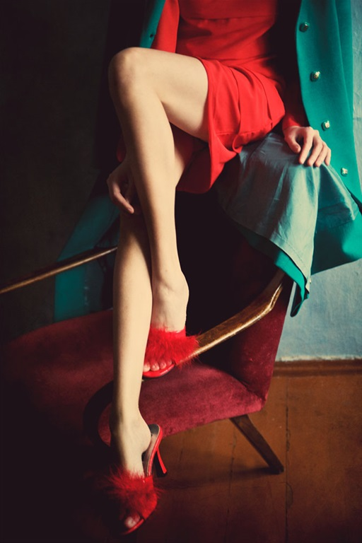 red shoes by Sandra Garancha #fashionphotography