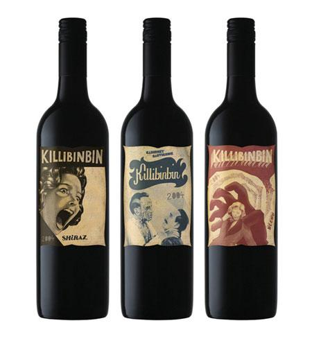 25 brilliant wine label, bottle & package designs
