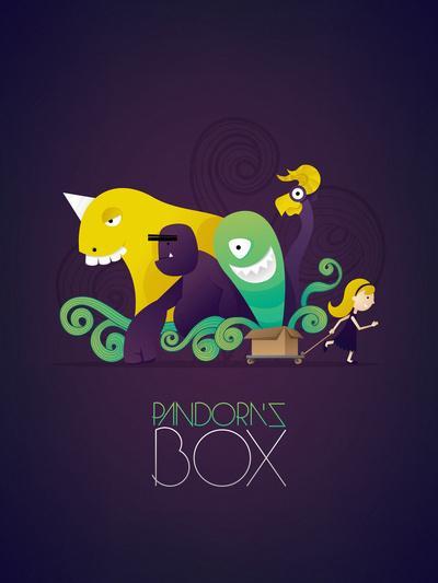pandora's box Art Print by Daniel Kano | Society6