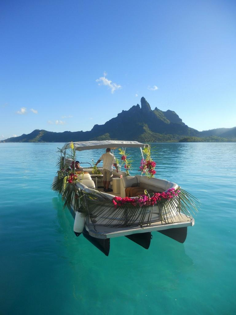 All sizes | The St.Regis Bora Bora Resort - Ready for the wedding | Flickr - Photo Sharing!