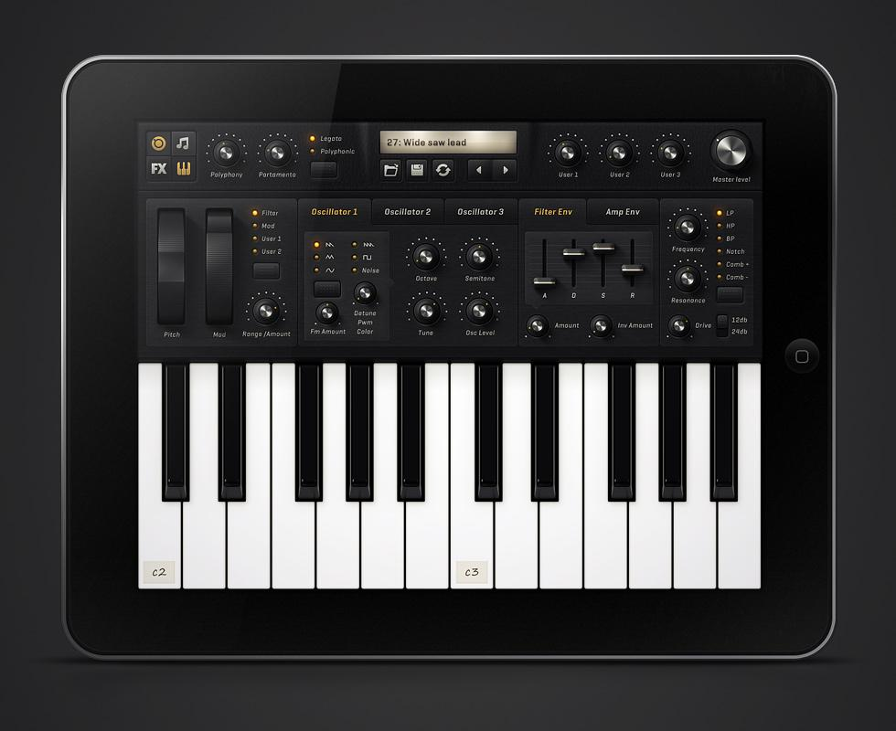 Mikael Eidenberg · iPad Synth App