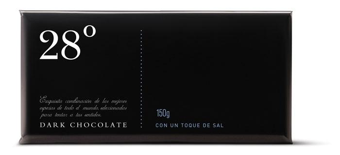 28 ºC Chocolate - The Dieline: The World's #1 Package Design Website -