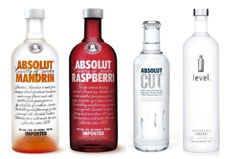 Absolut & Level - The Dieline: The World's #1 Package Design Website -