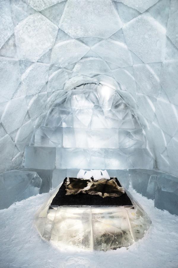 Icehotel: Diamond Genesis by Antoine Weygand & Roland Toupet | Trendland: Fashion Blog & Trend Magazine