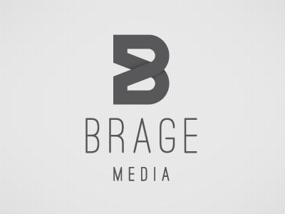 Brage Media Logo by Jens Obel