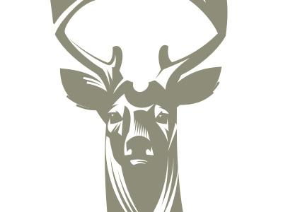 Deer logo. WIP by Gal Yuri