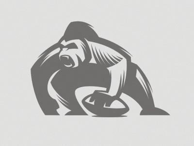 Gorilla mascot by Gal Yuri