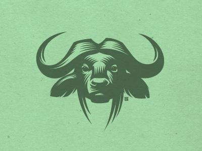 buffalo logo by Gal Yuri