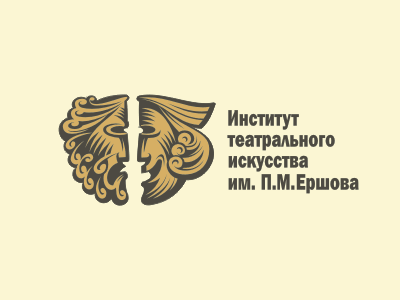 Logo of Theatre Institute by Gal Yuri