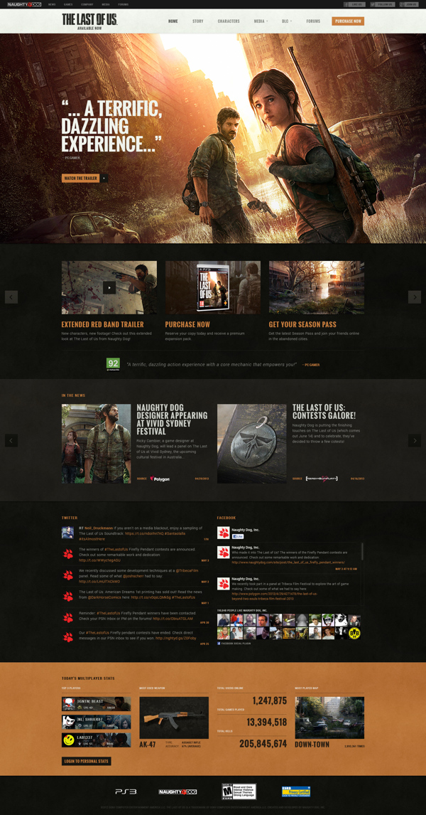 The Last of Us: Official Site on