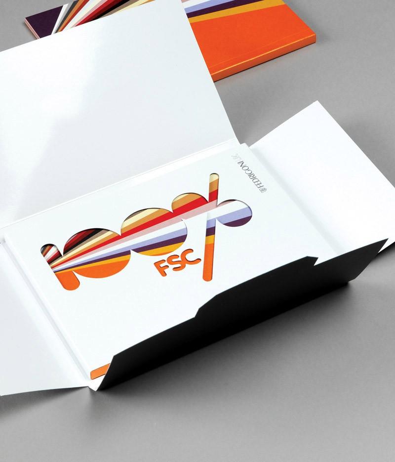 Fedrigoni – 100%FSC Book : designlsc