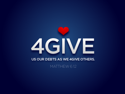 4GIVE US... MATTHEW 6:12 by Sean Wichert, Sr.