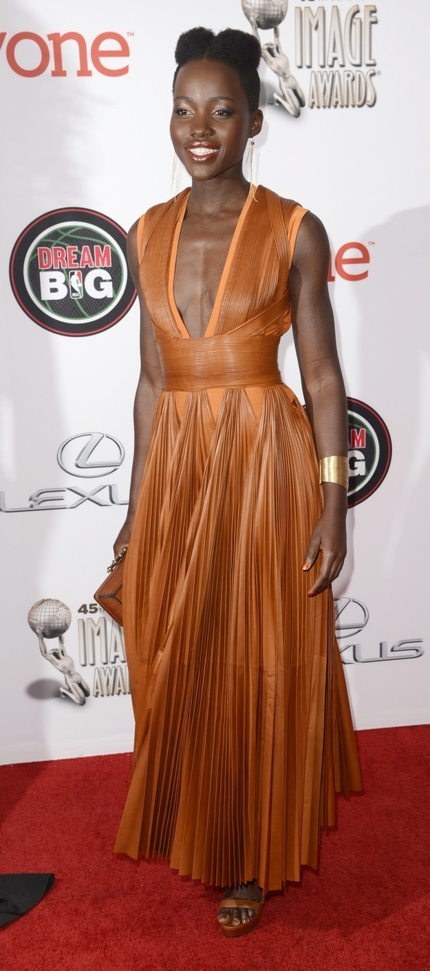 Every Single Flawless Look Lupita Nyong'o Wore This Awards Season