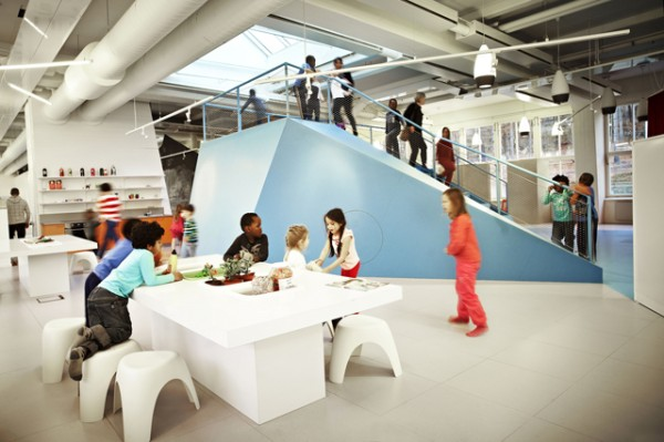 Architizer Blog » Stockholm's School Without Classrooms