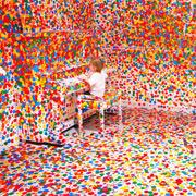 This is What Happens When You Give Thousands of Stickers to Thousands of Kids | Colossal