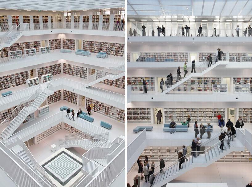 yi architects: new stuttgart library