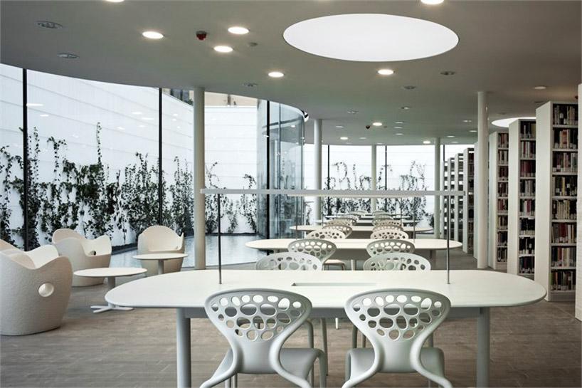arata isozaki + andrea maffei associati: maranello library now complete