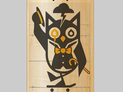 Likwid Sk8 Owl by Dermot Reddan