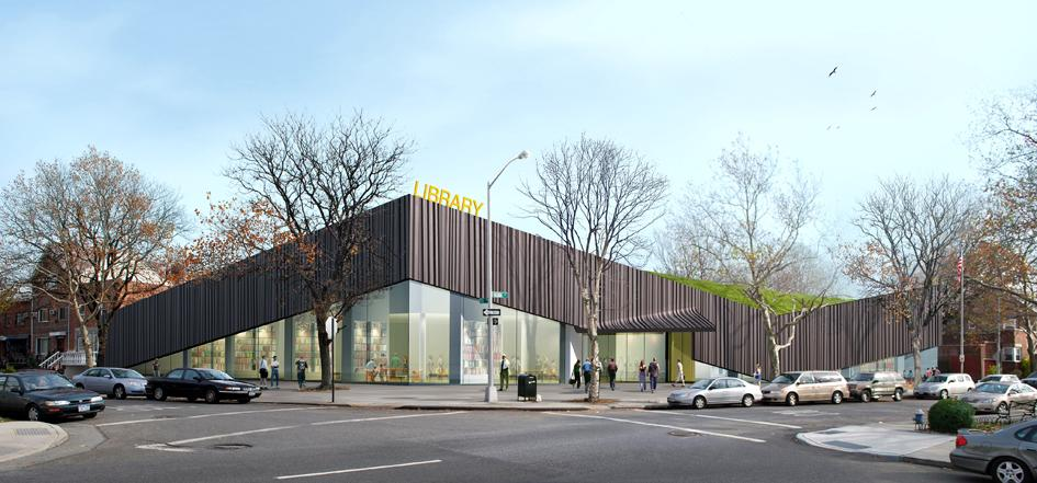 Kew Gardens Hills Library — Work Architecture Company