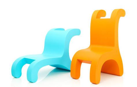 Kid's Flip Chair Series by Daisuke Motogi Architecture - 3rings