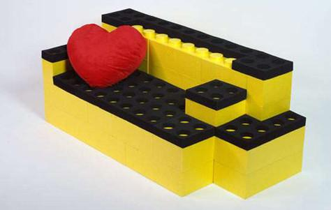 Lego-Like Furniture Bricks: LunaBlocks by Qbiq - 3rings