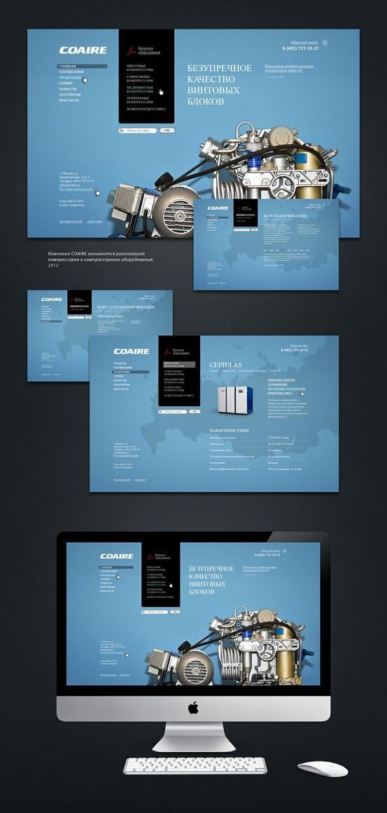 Web Design / Coaire — Designspiration