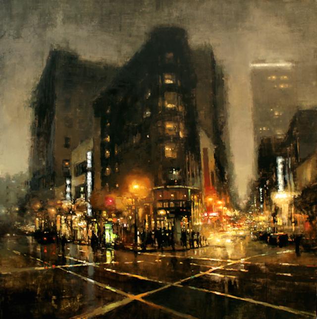 Cityscape Paintings – Fubiz™