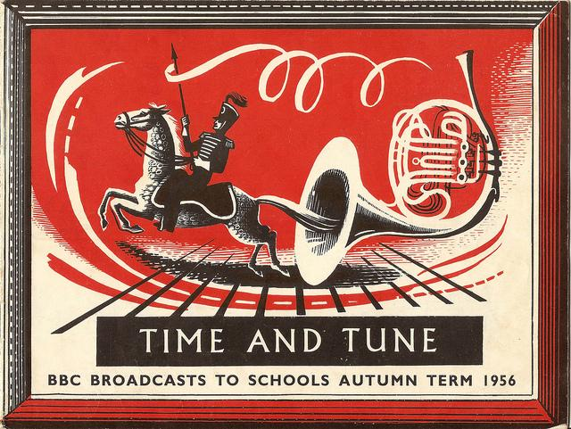 Time and Tune - BBC Schools Broadcasts booklet - cover artwork by Dorothea Braby, 1956 | Flickr - Photo Sharing!