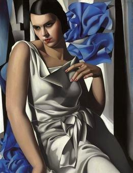 Lempicka, Tamara de (1898-1980) - 1932 Portrait of Madame M. (Christie's New York, 2009) | Flickr - Photo Sharing!