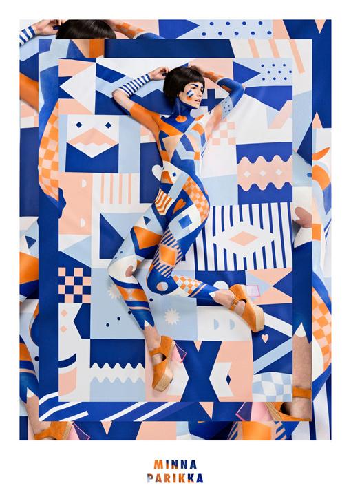 Janine Rewell for Minna Parikka SS14 |Design Resources