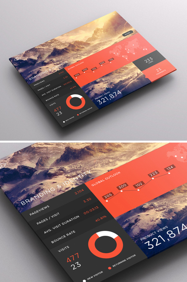 The Ultimate Trends for UI Inspiration: Animated Concepts, Menus, SVG graphics and more - Image 42 | Gallery