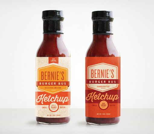Make & Matter: Bernie's Burger Bus Packaging | Design Work Life