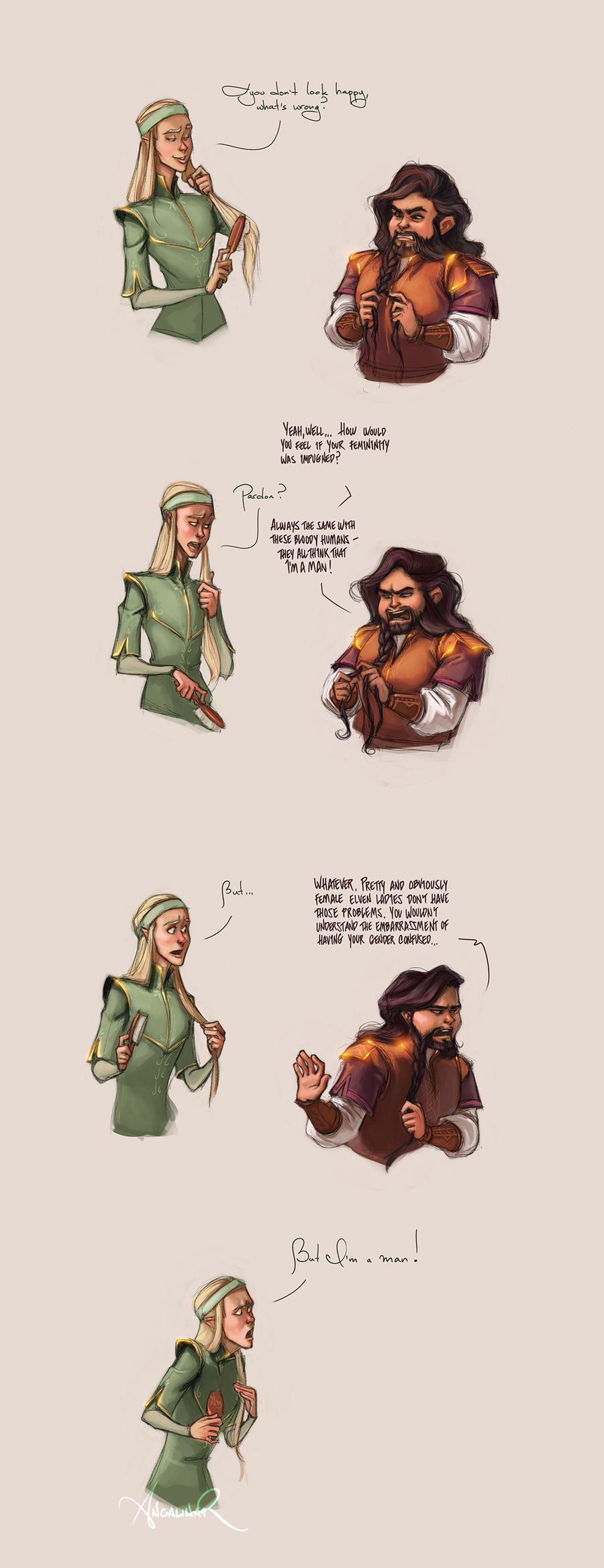 Dwarf World Problems by ancalinar