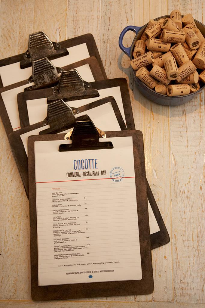 Art of the Menu: Cocotte