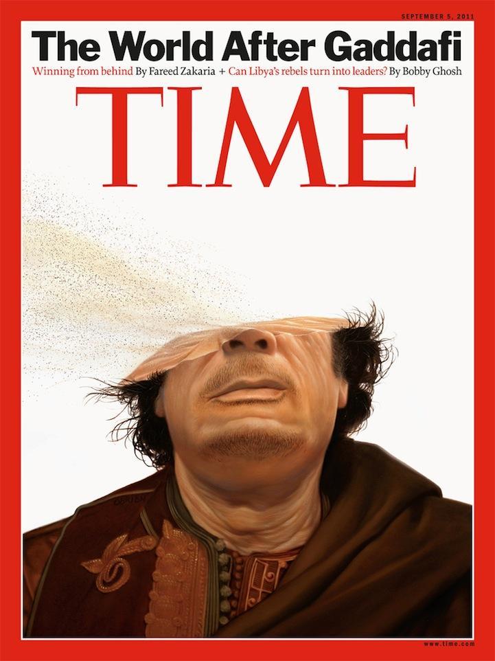 Gaddafi's Inevitable Fate - My Modern Metropolis