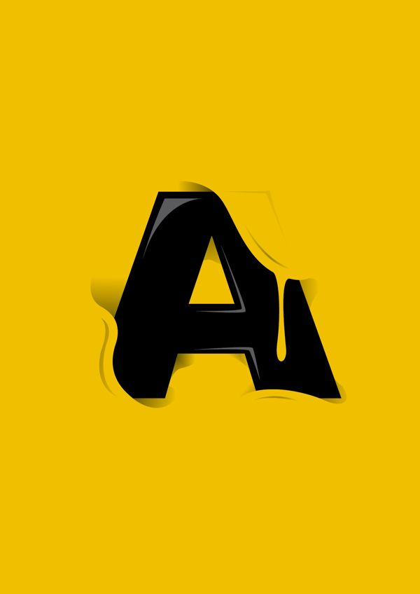 Letter A | Design & Graphic – pt. 1 | Inspiration DE