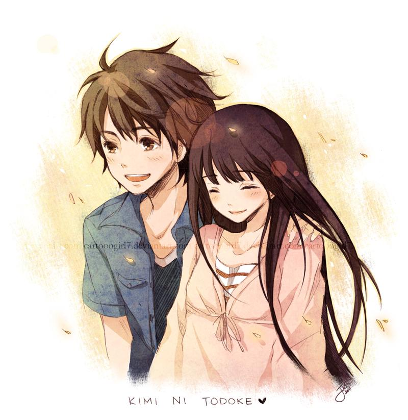 Kimi Ni Todoke: Sunkissed by *cartoongirl7