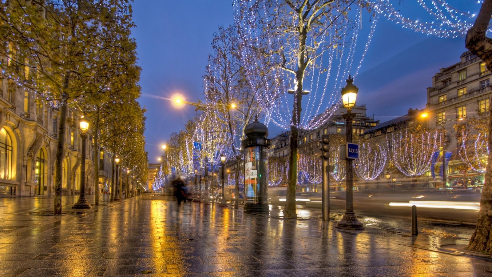 paris lighting street - photo #45