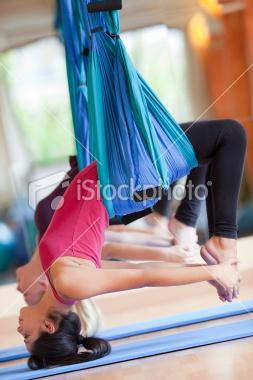 air yoga | Stock Photo | iStock