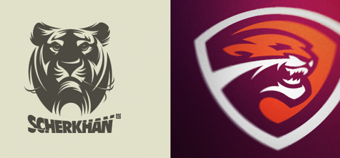 Logo Design: Tigers | Abduzeedo | Graphic Design Inspiration and Photoshop Tutorials